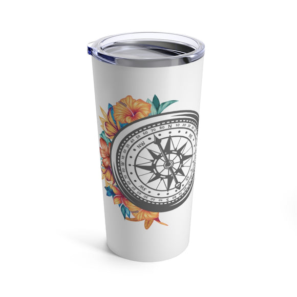 Let Your Heart Be Your Compass 20 ounce Tumbler