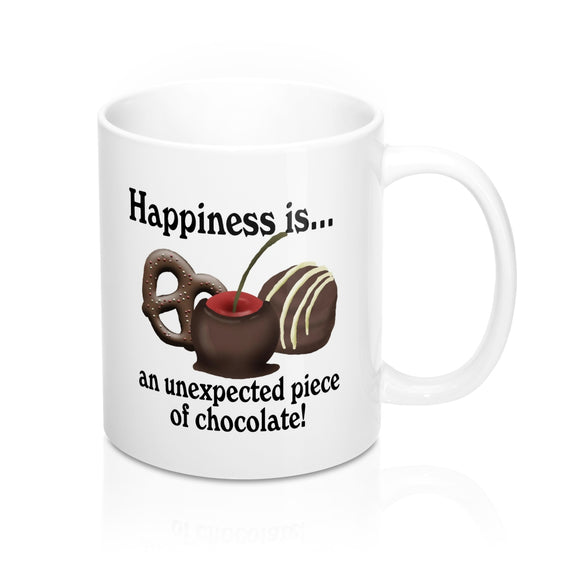 Happiness Is White Mug 11oz