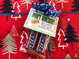 Christmas Snickers Printable Bag Toppers