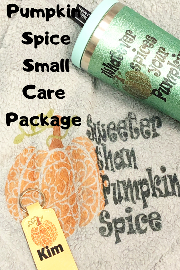Pumpkin Spice Fall Care Package (Small)