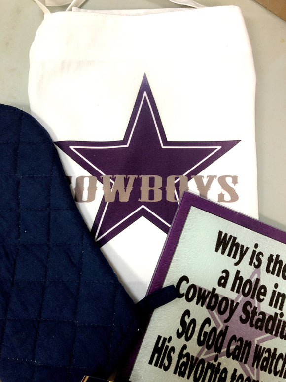 Dallas Cowboy Grilling Gift Set