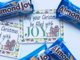 Christmas Joy Printable Bag Toppers