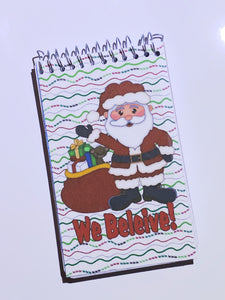 Santa Mini Notebooks