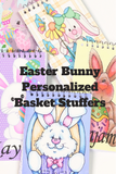 These personalized notebooks are the perfect Easter gift for your Easter basket. With your choice of 5 different Easter bunnies to choose from and your custom name on each, these notepads are a great Easter gift for anyone on your list.