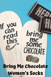 Bring Me Chocolate Women's Socks