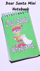 Dear Santa Mini Notebooks