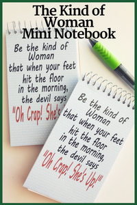The Kind of Woman Mini Notebooks