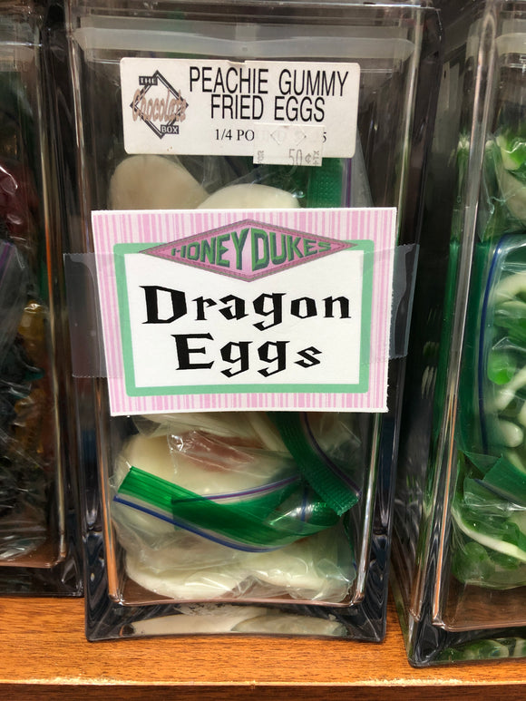 Dragon Eggs Honeydukes Printable Bag Toppers