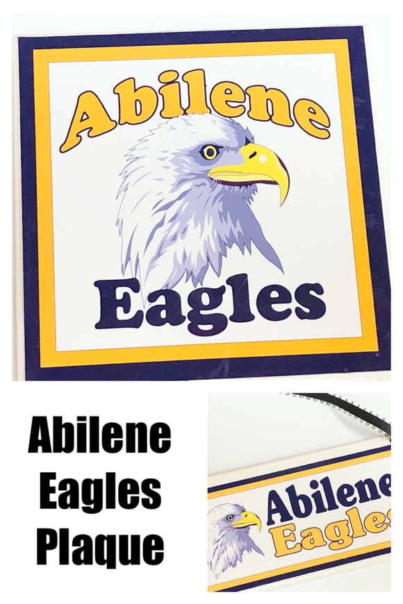 Abilene Eagle Plaque