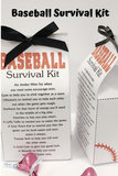 Baseball Survival Kit