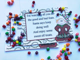 Elf Treats Bag Topper Printable