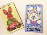 Easter Bunny Personalized Notebook Basket Stuffers