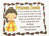 Belle Princess Seeds Bag Topper Printable