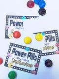 Pac Man Power Pills Bag Topper Printable