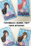 Mermaid Personalized Notebook