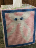 Peeking Bunny Easter Plastic Canvas Tissue Box Pattern
