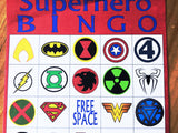 Superhero Bingo Game Printable