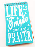 Handle with Prayer Notebook
