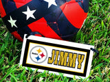 Steelers Mascot Personalized Name Plaque
