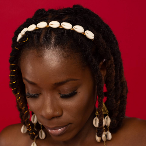 Cowrie Shell Head Band