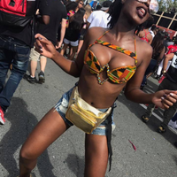 Orignal Kente Wire Bra