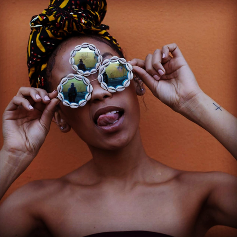 Third Eye Cowrie Shell Sunglasses