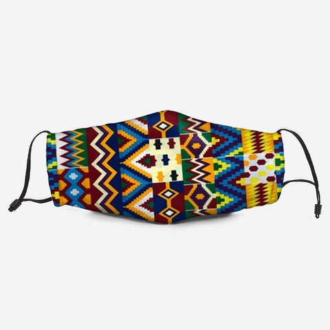 The Kente Fabric Mask A