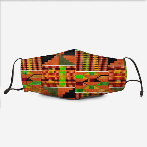 The Kente Fabric Mask K