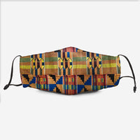 The Kente Fabric Mask Y