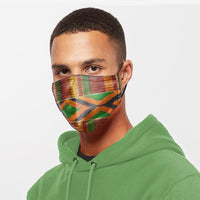 The Kente Fabric Mask I