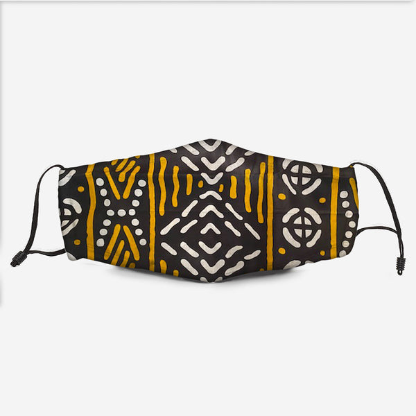 The Kente Fabric Mask W