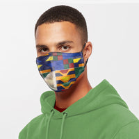 The Kente Fabric Mask S