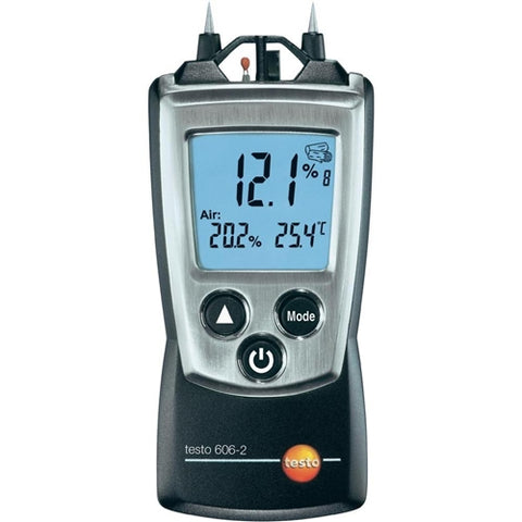 Testo 606-2 Pocket Pro Moisture Meter with Humidity, Temp