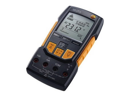 Testo 760-2 Digital Multimeter with Auto-Test, Capacitance, TRMS, and Low Pass Filter