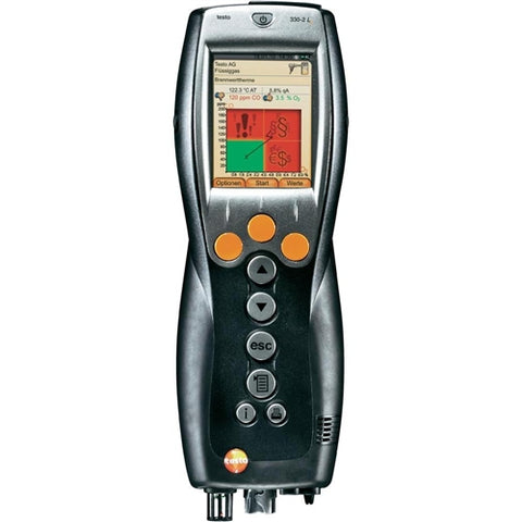 Testo 330-2G LL Commercial Combustion Analyzer O2, CO, NO