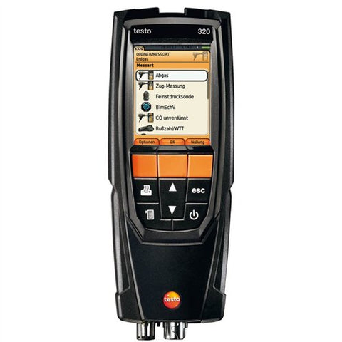 Testo 320 Commercial Combustion Analyzer