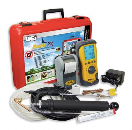UEi C155 Eagle 2X Combustion Analyzer Oil Kit with Printer