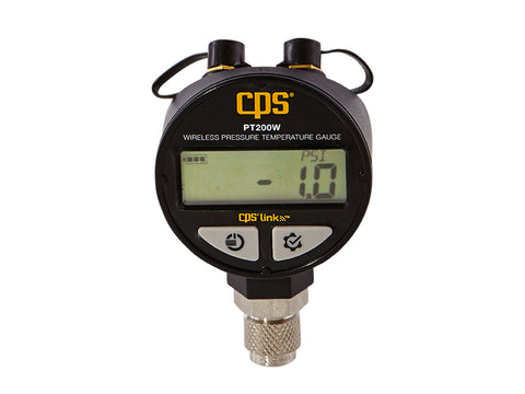 CPS PT200W | Wireless Pressure and Temperature Gauge
