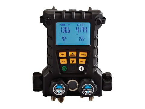 CPS MD100W | BlackMAX® 4-Valve Wireless Digital Manifold with 2 Clamp Probes