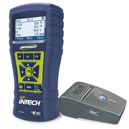 Bacharach Fyrite InTech Combustion Analyzer CO, O2 with Printer