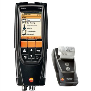 Testo 320 Combustion Analyzer with Printer