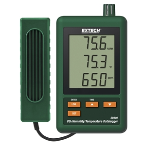 Extech SD800 CO2 / Humidity / Temperature Datalogger