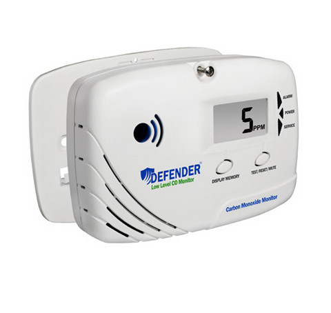 Defender LL6170 Low Level Carbon Monoxide Monitor