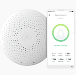 Airthings Wave Plus Smart Indoor Air Quality Monitor + Radon Detection