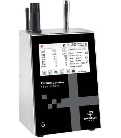 Particles Plus 7301 Remote Particle Counter - 6 Channels, 0.3 - 25 Microns