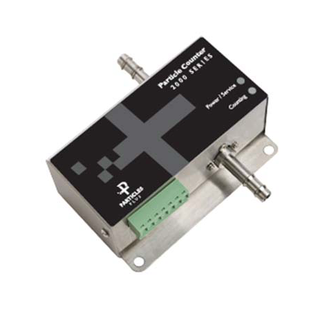 Particles Plus 2501-1 Remote Airborne Particle Counter - 2 Channels, 0.5 and 5 Microns