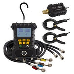 CPS MD50VHE | BlackMAX® 2-Valve Digital Manifold with MDXVG Vacuum Accessory, 2 Clamp Probes & 5' Hoses