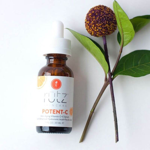 AMAZING SKIN BENEFITS OF VITAMIN C - Rutz Naturals Potent-C Serum