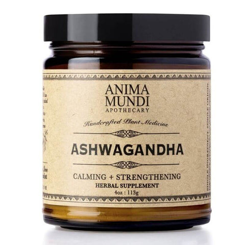 ALL ABOUT ADAPTOGENS: Super-Herbs to Manage Stress & Fatigue - Anima Mundi Ashwagandha