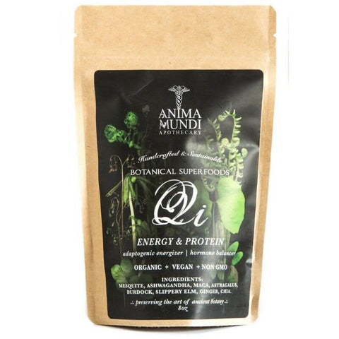 ALL ABOUT ADAPTOGENS: Anima Mundi QI Energy & Protein Superpowder